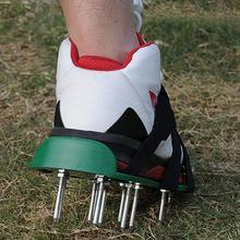 MeterMall рыхлый почвенный шип обувь прогулочный Восстанавливающий инструмент садовый газон культиватор