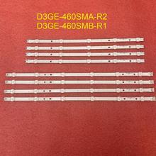 8 sztuk/zestaw podświetlenie LED strip dla Samsung UN46FH5003 UNFH5205 UN46H6203 UE46H6203 UE46EH5300 UE46H5303 UE46EH5050 UE46EH5303