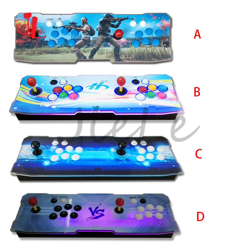 Hot Sale 3D Pandora Box Key Arcade Console With PCB Board 2 Player Video Game Machine Home Use Controller 2600 Games