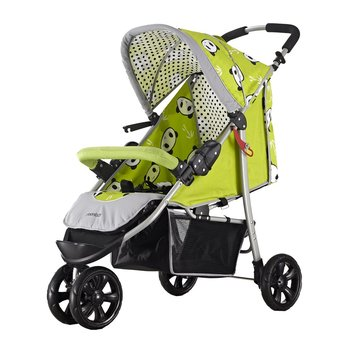 Bloom Flower BF333 Baby Stroller Light Weight Three Big Rubber Wheels Foldable Portable Stroller With Umbrella Canopy