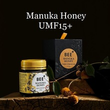 New Zealand King BEE+ Manuka Honey UMF 15+ Immunity Stomach Men Women Kids Health and Wellness Products Cough Sore Throat Relief