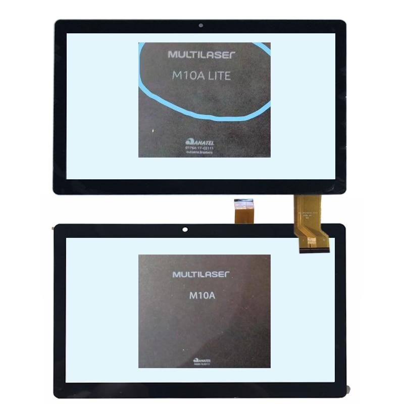 New Touch Screen Digitizer 10.1inch For Multilaser M10a Modelos Nb253, Nb254 E Nb277 / Multilaser M10a Lite Nb267 Nb268