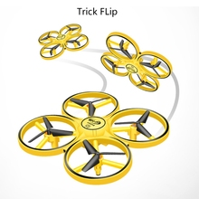 Toy Drone Flips Led-Light Mini with 360 Best-Gift for Kids Remote-Sensing Smart-Watch