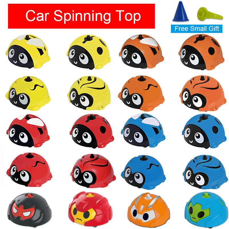 1 Piece Gyro Car For Child Toys Cars Cartoon Toy Car Gyroscope Top Scopperil Toy for kids