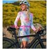 Longo triathlon manga curta camisa de ciclismo conjuntos skinsuit maillot ropa ciclismo bicicleta jérsei roupas ir macacão 7