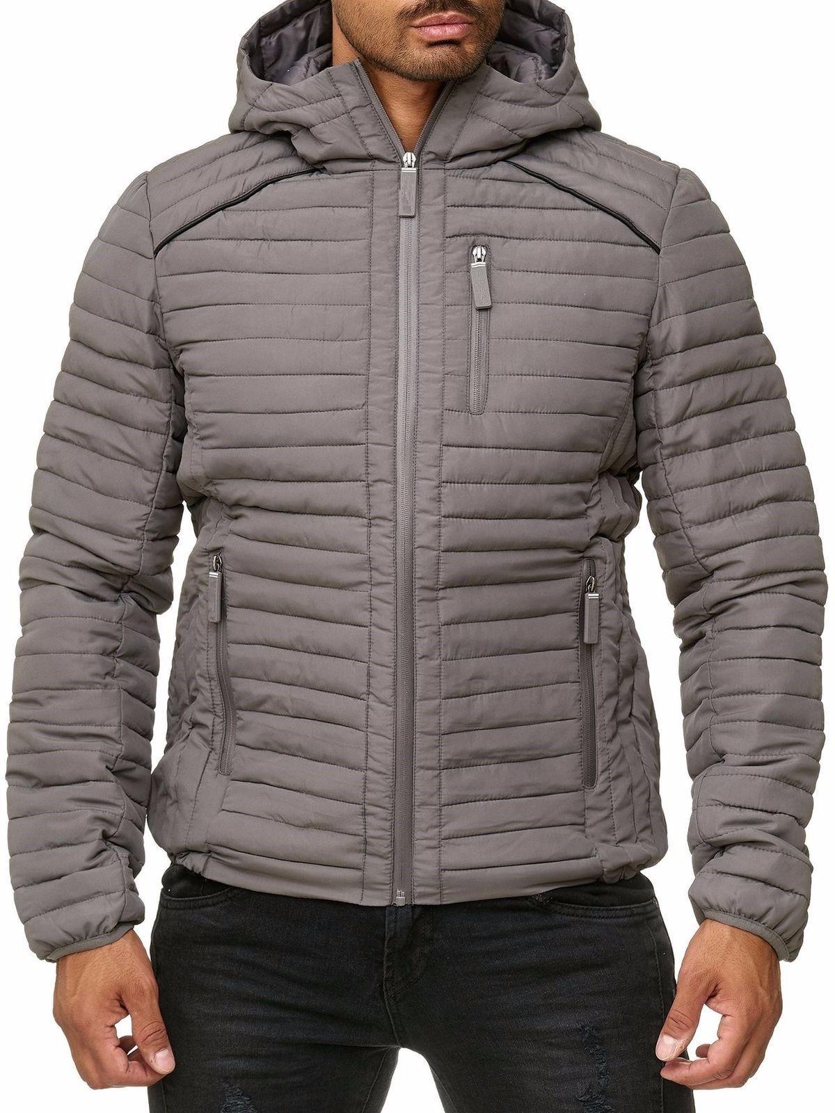 ZOGAA 2019 Men Jacket Winter New 6 Color Winter Coat Men Casual Fashion Warm Hooded Winter Jacket Men Plus Size XS-3XL Men Parka