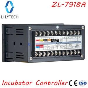 Image 2 - Xm 18, ZL 7918A, controlador da incubadora de ovos, controlador automático da umidade da temperatura multifuncional, 100 240vac, ce, iso, lilytech, xm 18