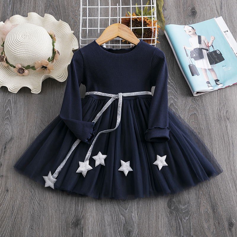 Hff81ca9aeb5a4d45ab3cccc50f559170e Red Kids Dresses For Girls Flower Lace Tulle Dress Wedding Little Girl Ceremony Party Birthday Dress Children Autumn Clothing
