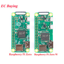 Raspberry Pi Zero/ZERO W с Wi-Fi беспроводной модуль Bluetooth 4,1 1 ГГц ЦП 512 МБ ОЗУ макетная плата Mini HDMI-совместимая