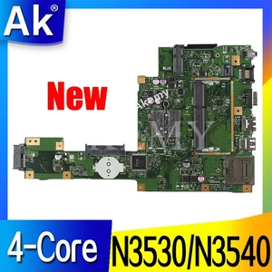 New!AK X553MA Laptop motherboard for ASUS X553MA X553M A553MA D553M F553MA K553M Test original mainboard N3530/N3540 4-Core CPU(China)