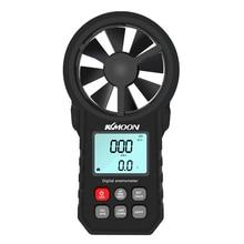 KKMOON Мини ЖК-цифровой анемометр, термометр, анемометр, измеритель скорости ветра, скорость, скорость воздуха, температура, тестер, HoldPeak, HP-866B