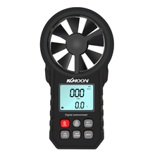 KKMOON Mini LCD Digital Anemometer thermometer anemometro Wind Meter Speed Air Velocity Temperature Tester HoldPeak HP 866B