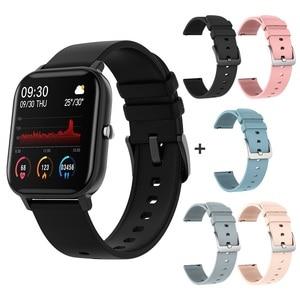 Image 5 - SENBONO P8 2020 GTS Women Men Smart Watch IP67 Waterproof fitness tracker Heart Rate Blood Pressure Monitor Smartwatch