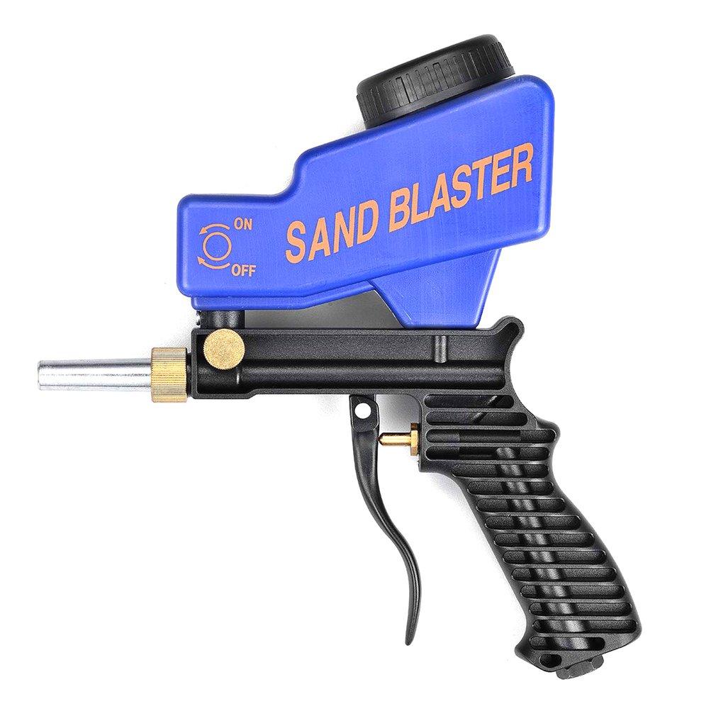 Portable Gravity Sandblasting Gun Pneumatic Sandblasting Set/Kit Rust Blasting Device Small Sand Blasting Machine