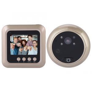 Image 1 - 2.4inches 1080P Intelligent Electric Door Bell Wireless Digital Peephole Security Door Viewer Doorbell Camera