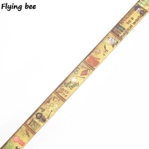Image 2 - 20 ピース/ロット flyingbee 15mmX5m マジックアカデミー和紙テープ紙 diy 装飾粘着テープ文房具マスキングテープ用品 X0288