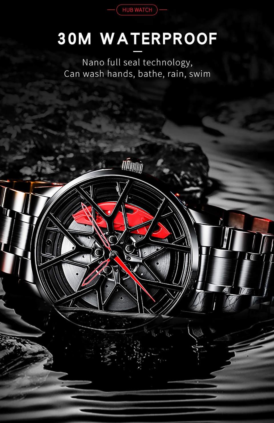 roda de carro design personalizado roda relógios
