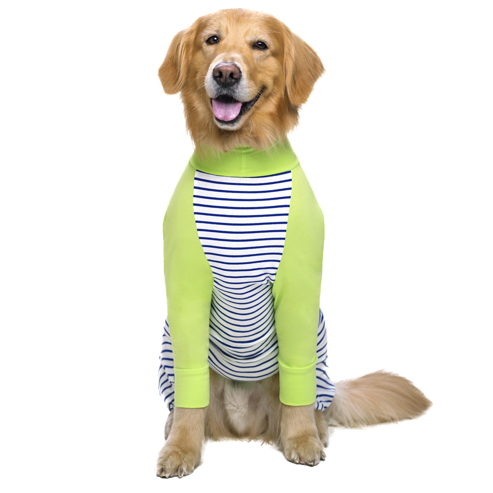 Striped Large dog clothes (1)