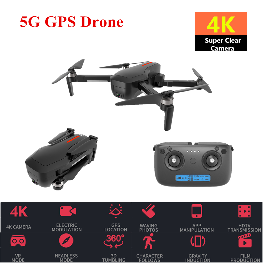 CSJ X7 GPS Drone 4K 5G Brushless Quadrocopter with Camera <font><b>Follow</b></font> Me RC Helicopter Professional Drones Dron VS <font><b>X6</b></font> X9 image