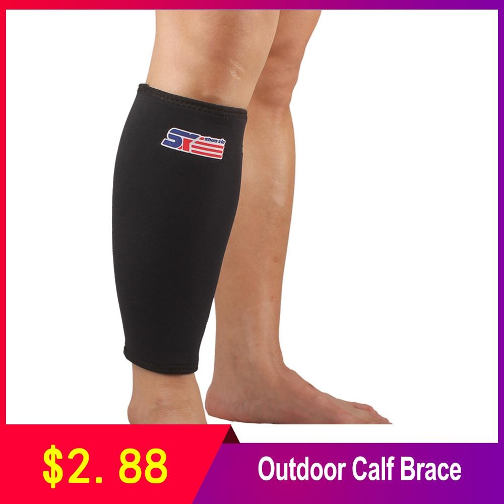 SX561 Outdoor Sports Calf Brace Sport Calf Stretch Brace Support Protector Wrap Shin Running Bandage Leg Sleeve Compression