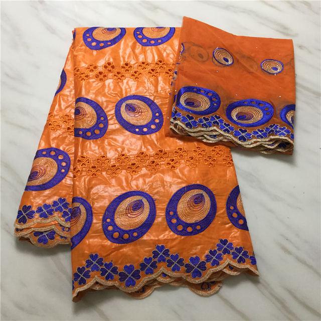 Cor do vinho bordada bazin riche getzner com tule tecido de renda africano 100% algodão bazin riche tecido 7 jardas para vestido feminino