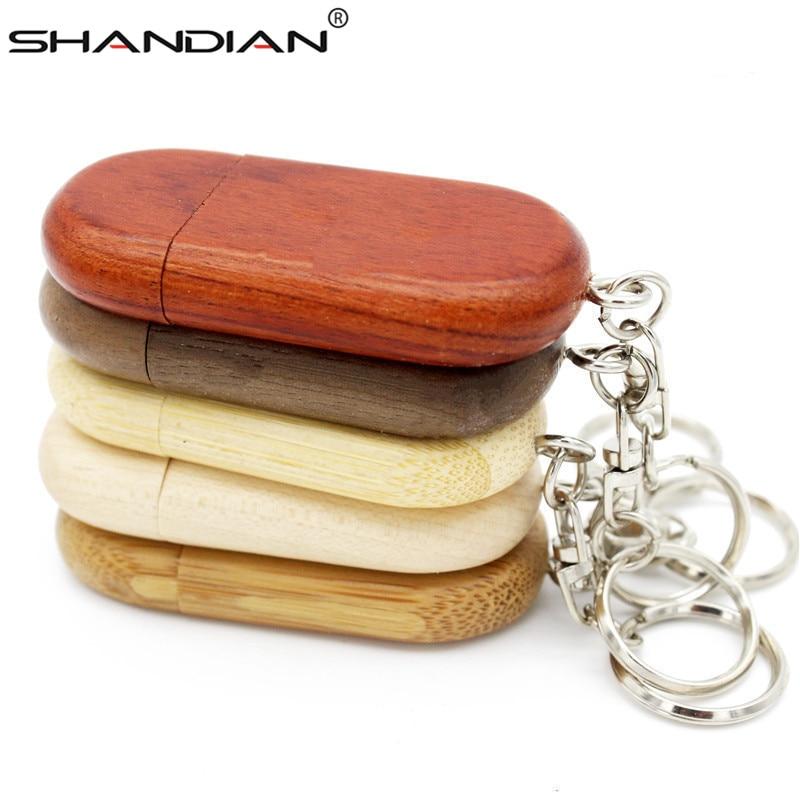 SHANDIAN USB 2.0 Personality Creative Flash Drive 4GB 16GB 32GB 64GB Wedding Photography Fashion Gifts 1PCS Free Custom Logo