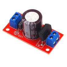 Rectifier filter power supply board rectifier power amplifier 3A with red LED AC simple Supl indicator цена 2017