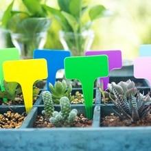 50 шт. садовые этикетки классификация сортировочная бирка, ярлык пластиковая письменная пластина доска для сада Садоводство зеленый дом
