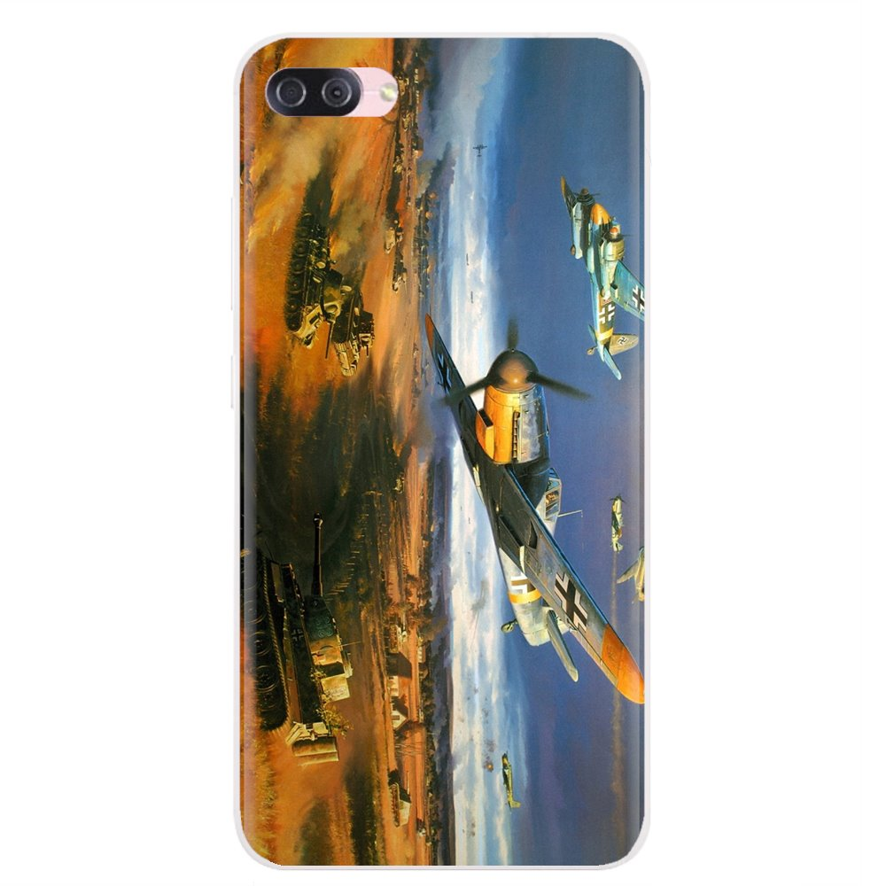 Messerschmitt BF 109 Aircraft For iPhone 11 Pro 4 4S 5 5S SE 5C 6 6S 7 8 X XR XS Plus Max For iPod Touch Buy Silicone Phone Case(China)