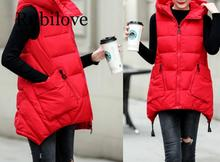 Rubilove 2019 autumn and winter new student cotton vest womens coats plus size 3XL women clothing vests