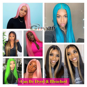 Image 5 - 13x6 Lace Front Wig Straight Lace Front Human Hair Wigs For Black Women Brazilian 360 Lace Frontal Wig Pre Plucked 180% Remy Wig