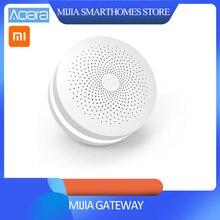 更新バージョンオリジナル Xiaomi Mijia スマートホーム多機能ゲートウェイ 2 警報システムインテリジェントオンラインラジオ夜の光ベル