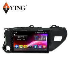 IYING 8 core Android 9 4G pour Toyota Hilux 2015-2020 RHD LHD autoradio multimédia lecteur vidéo Navigation GPS autoradio No 2ind(China)