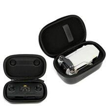DJI Mavic Mini çanta aksesuarları Mavic Mini durumda Drone kutusu çanta koruyucu + uzaktan kumanda depolama taşıma kulp kılıfı PU