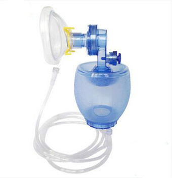 Simple respirator PVC medical adult children first aid manual resuscitator silicone breathing machine airbags