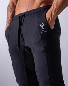 Image 2 - 2020 New Jogging Men Sport Sweatpants Running Pants GYM Pants Men Joggers Cotton Trackpants Slim Fit Pants Bodybuilding Trouser