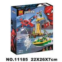 Spider-man: doc Ock Diamante Heist Blocchi di Costruzione Giocattoli Dei Mattoni del Regalo Compatibile Con Legoinglys Marvel Avengers Super hero 76134