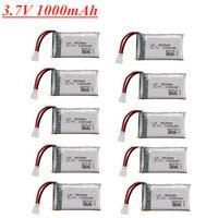 Batería Lipo de 3,7 V, 1000mAh, 25c, 952540 para Syma X5 X5C X5C-1 X5S X5SW X5SC V931 H5C CX-30 CX-30W recambios de cuadrirrotor RC