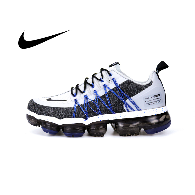 Authentic Nike AIR VAPORMAX Run Utility Men's Running Shoes New Color Leisure Jogging Sneaker Fashion Designer Footwear AQ8810