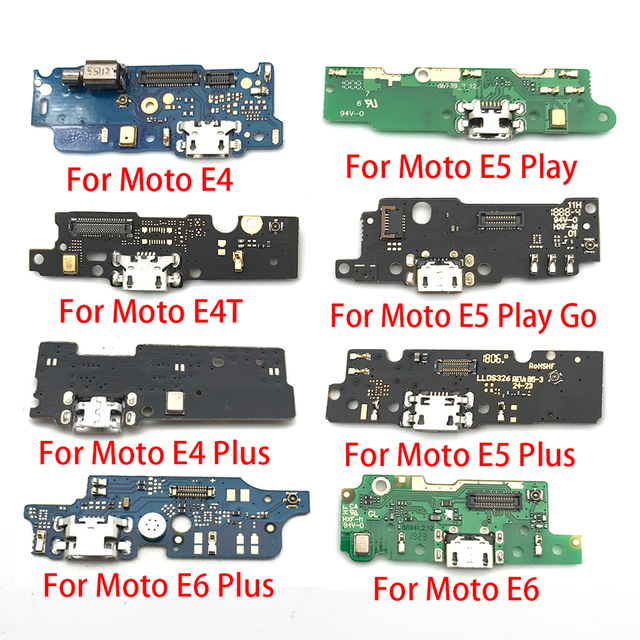 100pcs,USB Charger Charging Dock Port Connector Flex Cable For Motorola Moto E3 E4 E4T E4 E6 E7 E5 G8 Plus E5 G8 Play Go Power