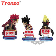 Tronzo Origianl Een Stuk Wcf Vol.5 Eustass Kid Aap. D.Luffy Vinsmoke Sanji Pvc Action Figure Collectible Model Kinderen Speelgoed Pop