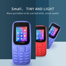 Telefony Celulares IPRO A21 Mini telefony komórkowe 800mAh latarka klasyczna GSM fioletowa wielojęzyczna teléfono inteligengen