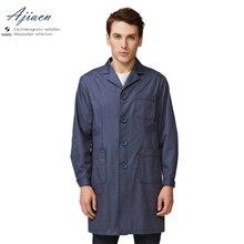 Ajiacn электромагнитное излучение Защитная Кнопка стиль пальто сотовый телефон, телевизор, компьютер, холодильник EMF защитная одежда
