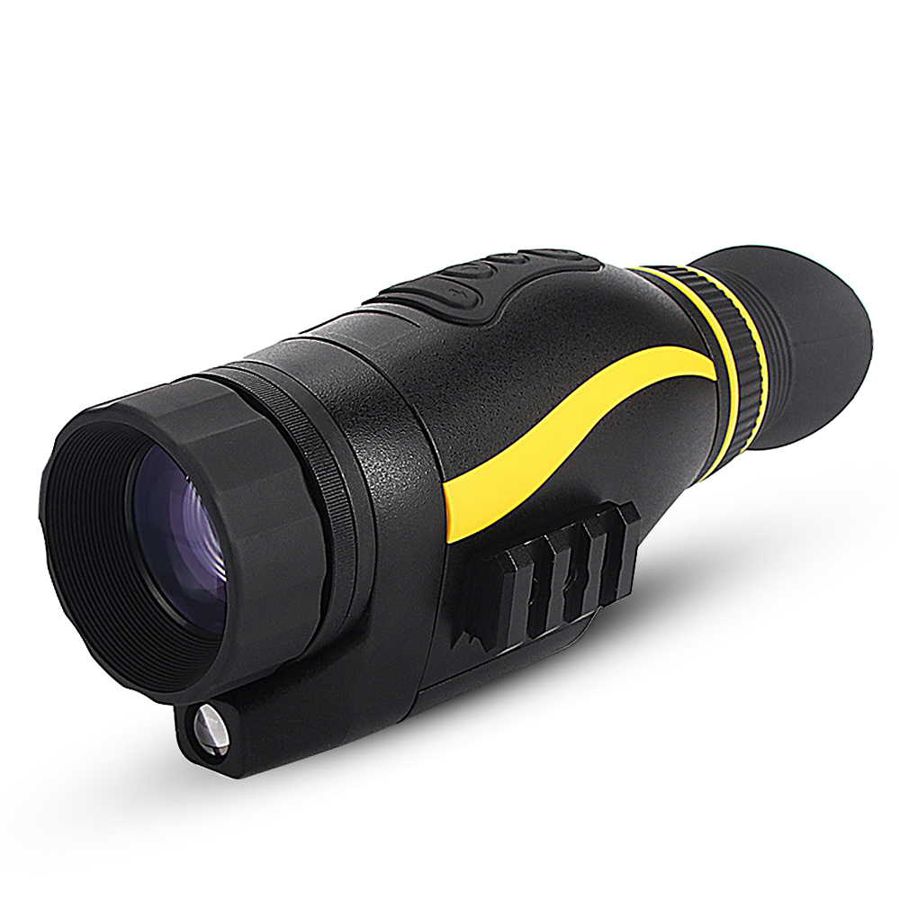 4x35 Nachtsicht Jagd Infrarot Teleskop Taktische Monokulare HD Digital Vision Monokulare Kamera Thermische Imaging Instrument