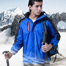 Winter Coat Waterproof Jacket Men Mount Conquer Skiing Heated Jacket Outdoor Tech Hiking Jacket Men & Women Hunting Jacket winter outdoor jacket 3 in 1 jacket men windproof waterproof mountaineering skiing camping hunting rain winter sports jacket