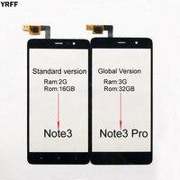 Digitador Da Tela de toque Para Xiaomi Redmi Nota 3 150mm/Nota 3 Pro 152 milímetros Edição Especial Note3 Toque sensor de tela Do Painel de Vidro|Painel de toque p/ celular|Telefonia e Comunicação -