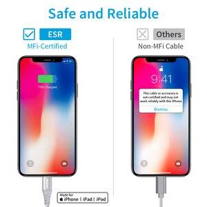 """Image 5 - ESR 30W פ""""ד כבל USB C לברק MFi מוסמך מהיר טעינת כבל עבור iPhone 11 פרו X XR XS מקס סוג C נתונים כבל עבור iPad"""