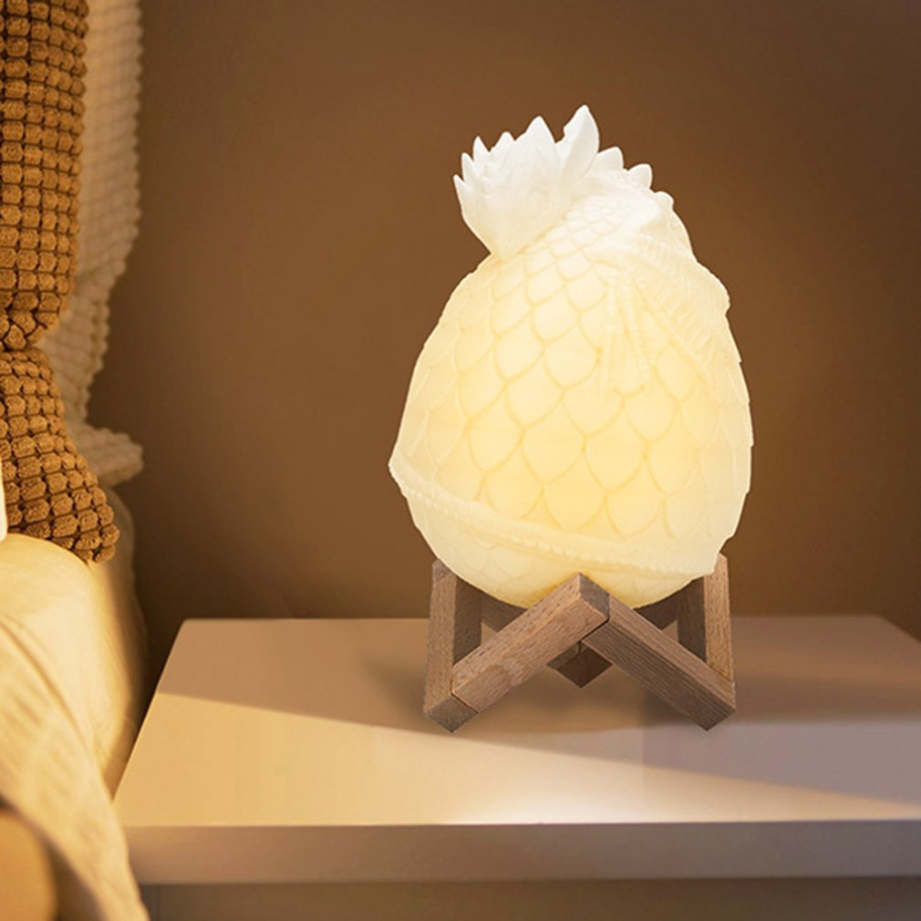 Adjusted Smart Home Disk Dragon Egg Light Sigma 3d Printing Moonlight Creative Products Led Night Light