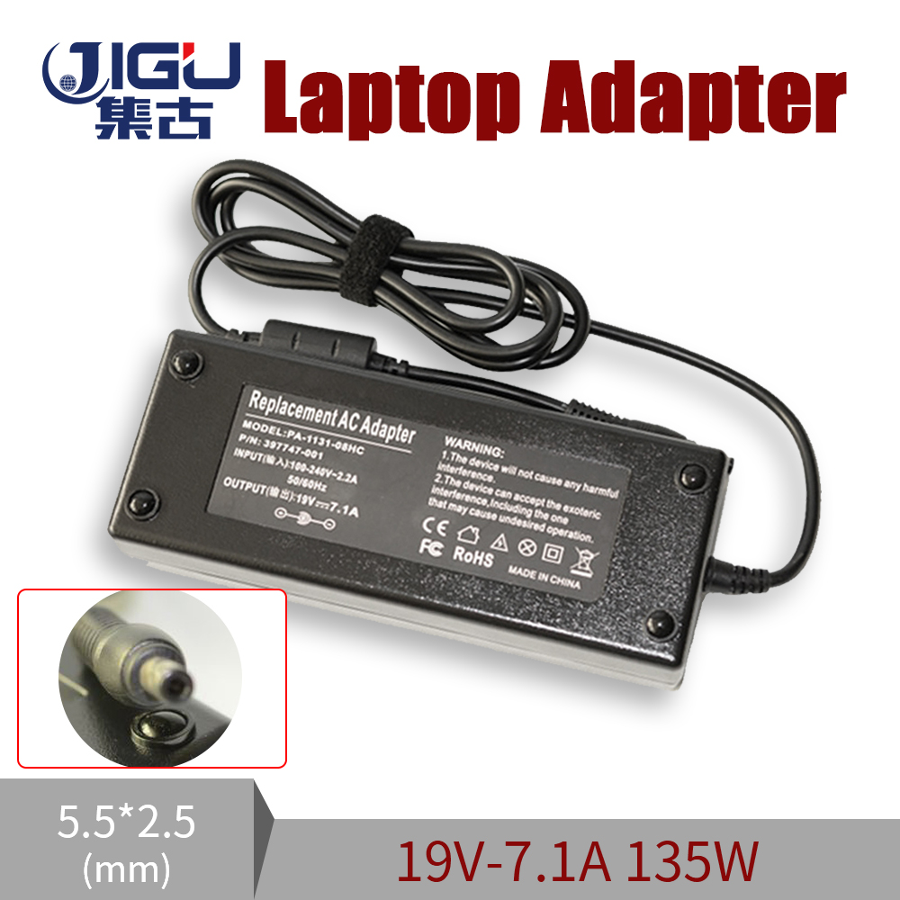 Replacement For Acer <font><b>19V</b></font> 7.1A 5.5*2.5MM 135W Universal <font><b>Notebook</b></font> Laptop AC Charger Power <font><b>Adaptor</b></font> free shipping image