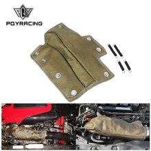 PQY   Lava rura wlotowa koc turbosprężarka osłona termiczna chłodnica wlotowa odporność na wysokie temperatury termiczna dla Honda Civic 1.5T PQY TBF06